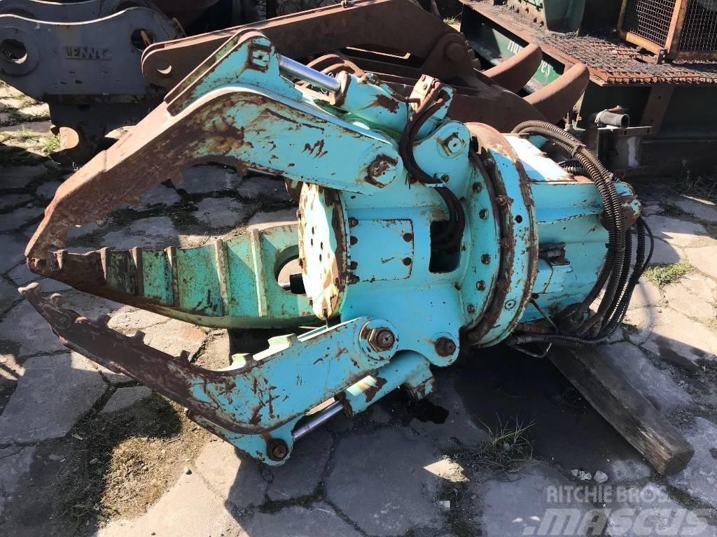 Dehaco Chwytak hydrauliczny Hydraulic rotating grab