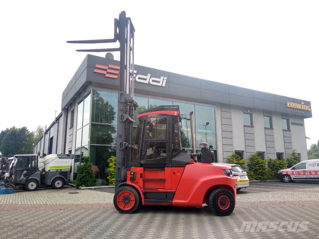 Linde H80D/1100 dźwiga 12 ton