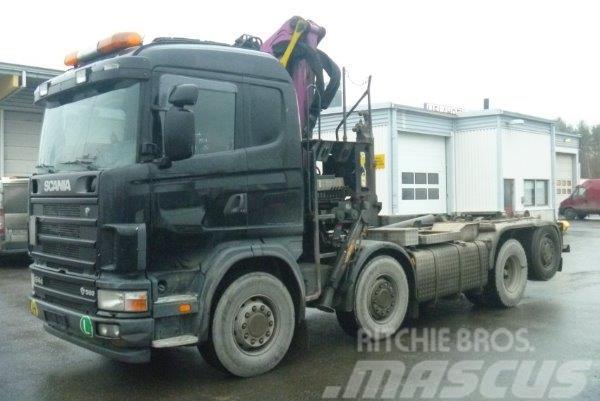 Scania R 164 GB8X2*6NA 580