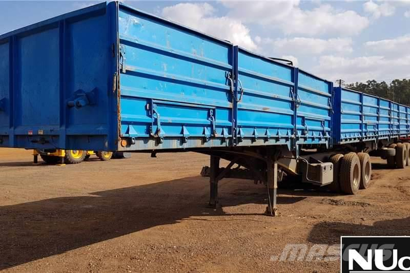 Purchase Sa Truck Bodies High Side Dropside Link Other Trailers Bid Buy On Auction Mascus Usa