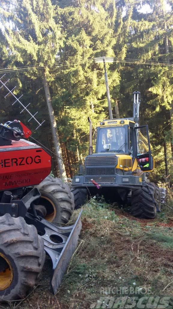 Ponsse Herzog mobile Traktionswinde MW 500
