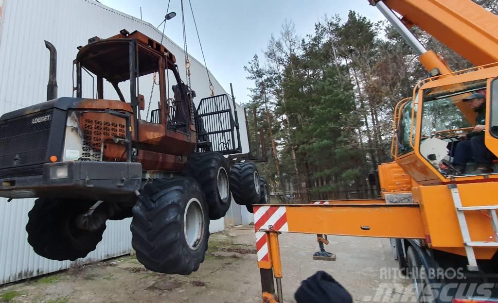 Logset 5F Breaking/Demonteras