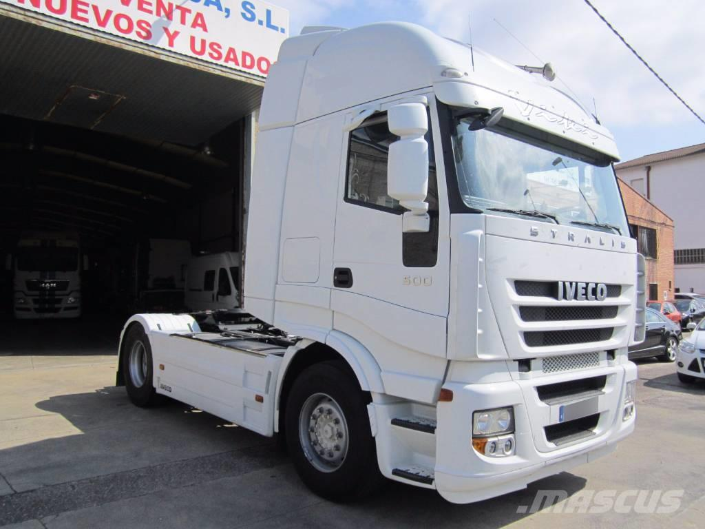 Used Iveco Stralis 500 tractor Units Year 2012 Price
