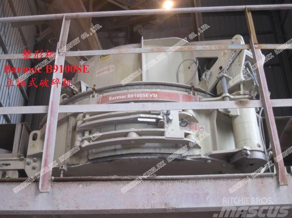 Metso Barmac B9100SE VSI rock/limestone crusher