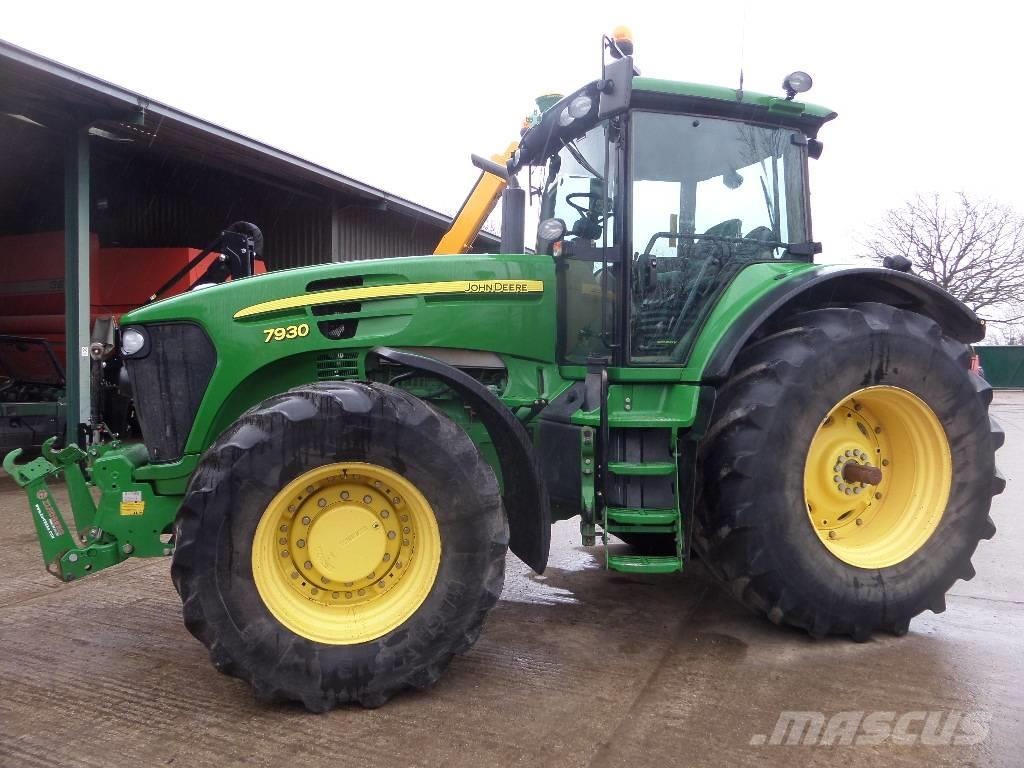 used john deere 7930 tractors year 2010 price 71 690 for sale mascus usa. Black Bedroom Furniture Sets. Home Design Ideas