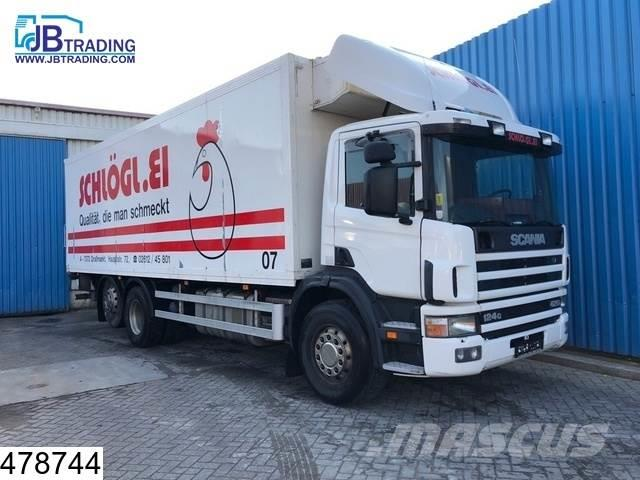 Scania 124 420 6x2, Manual, Retarder, Cooling system Defe