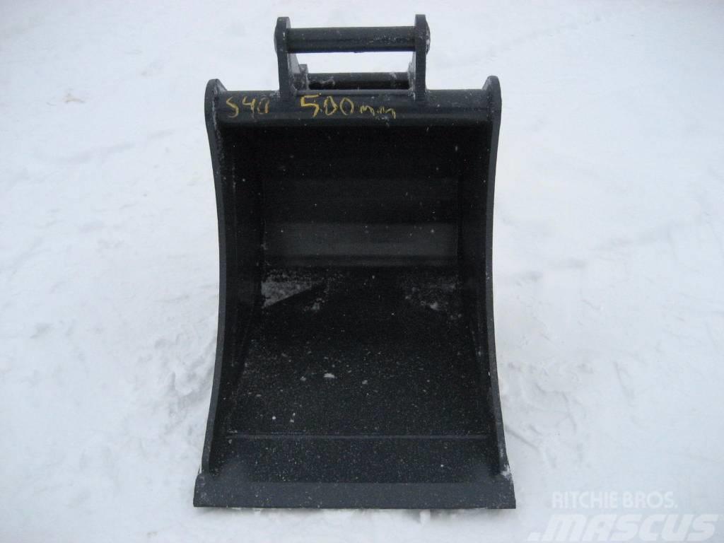 [Other] Kuokkakauha 500mm Kärsä S40 2-5tn koneet