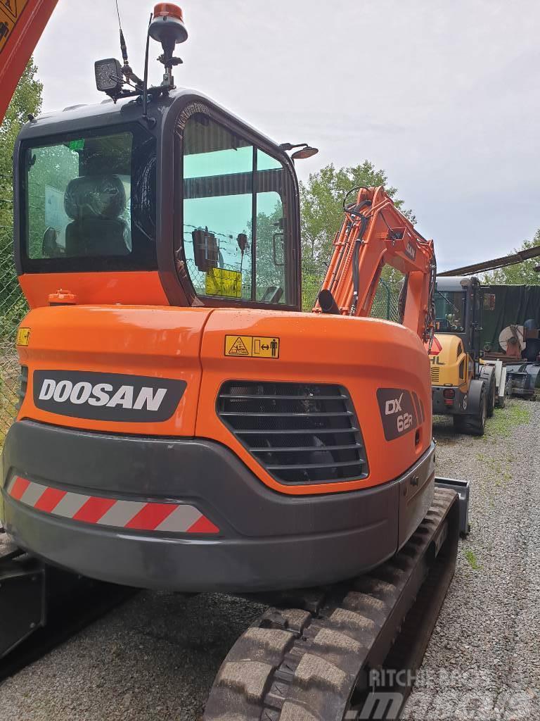 Doosan DX 62 R, Uthyres
