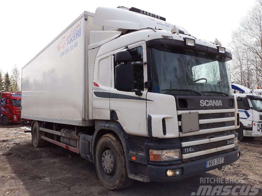Scania P114 Ny Besiktad 2000