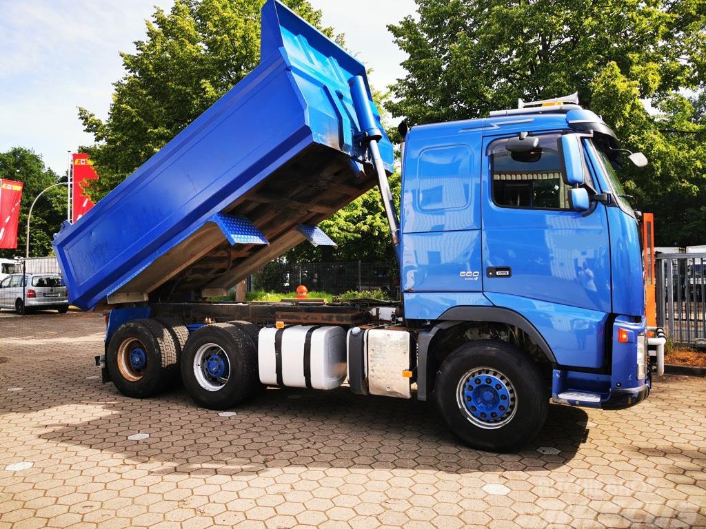 Volvo FH 660 6X4 Steel/Steel Big Axes AdBlue Retarder