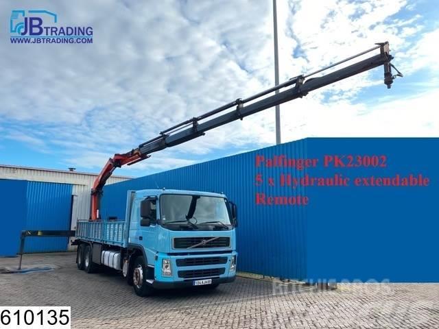Volvo FM12 420 6x4, Manual, Retarder, Palfinger crane, R
