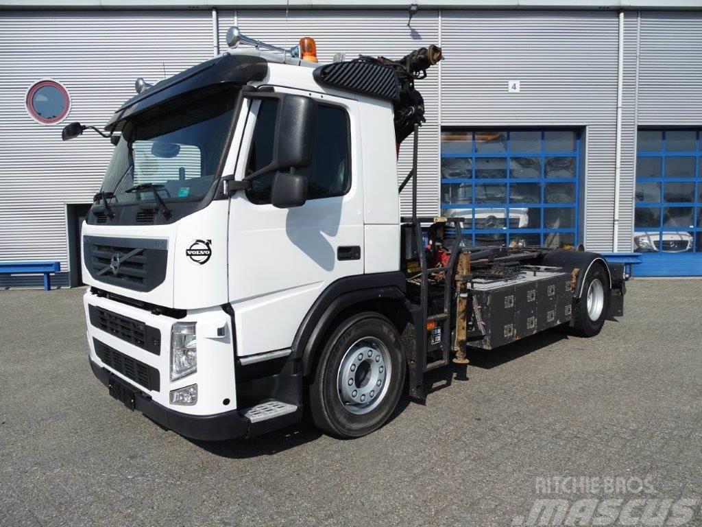Volvo FM9-330 / 4X2 / HMF1020 CRANE / AJK 10 TON HOOKLIF