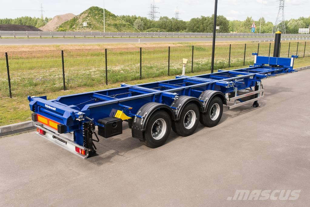 Grunwald Tipper container semitrailer