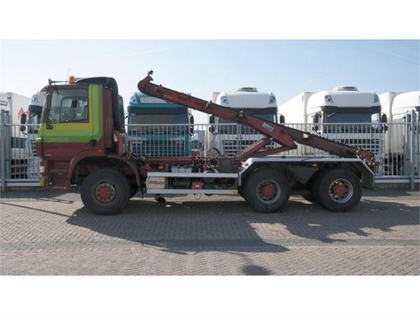 Ginaf X 3335 S/430 6X6 CHAINSYSTEM MANUAL GEARBOX