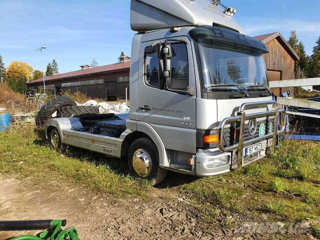 Mercedes-Benz Atego 817 L +trailer