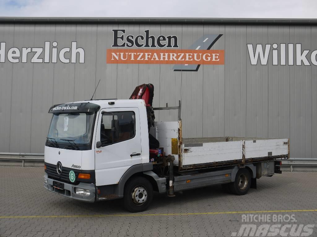 Mercedes-Benz Atego 818 4x2, HMF 763 Kran