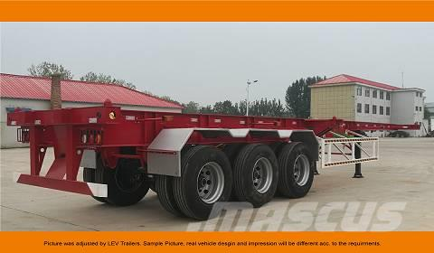 CIMC 3 Axle Container Chassis