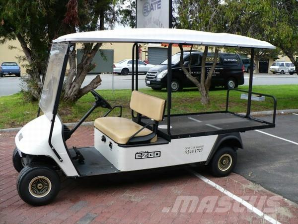 EZGO Rental 2-seater LWB Utility