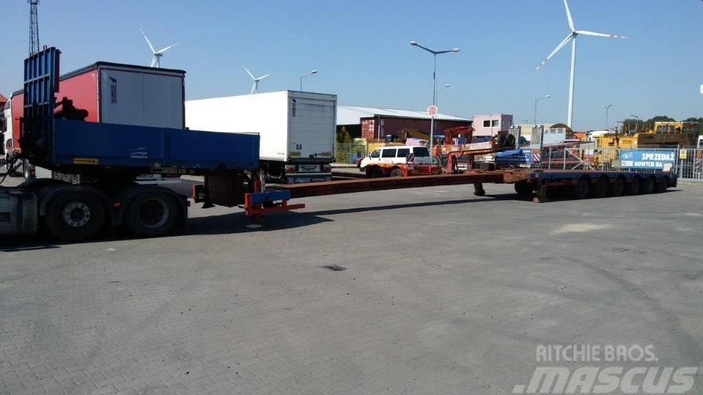 [Other] Naczepa niskopodwoziowa do transportu pojazdów kol