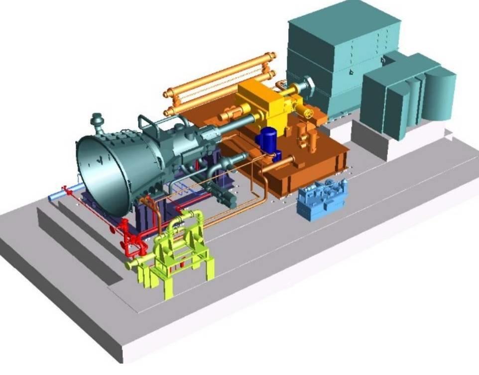 Siemens SST-400 steam turbine