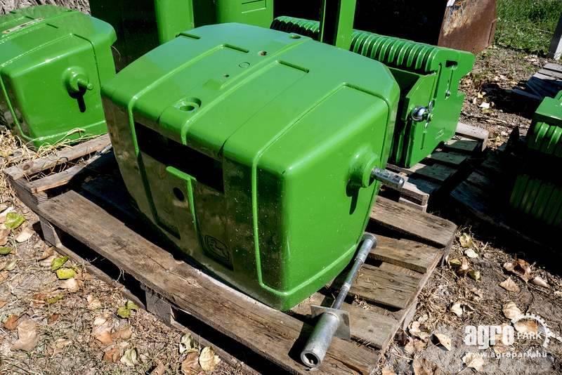 John Deere NEW BigPack John Deere front weight 1150 kg, iron