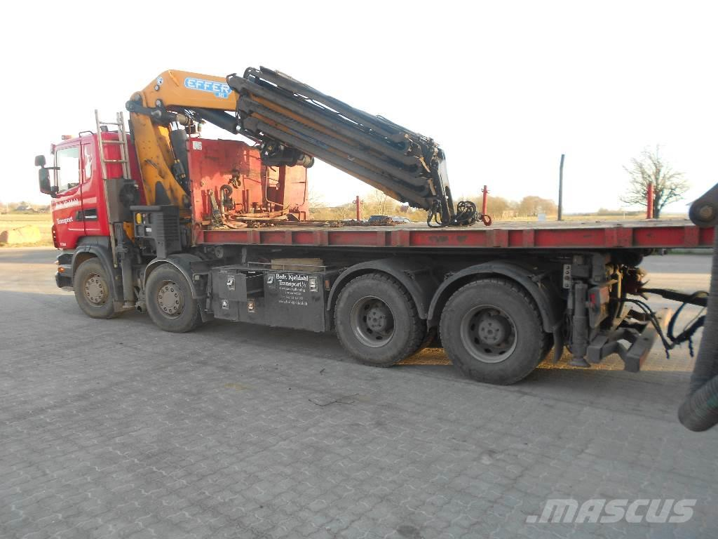 Scania med Effer kran R 480  8x 4