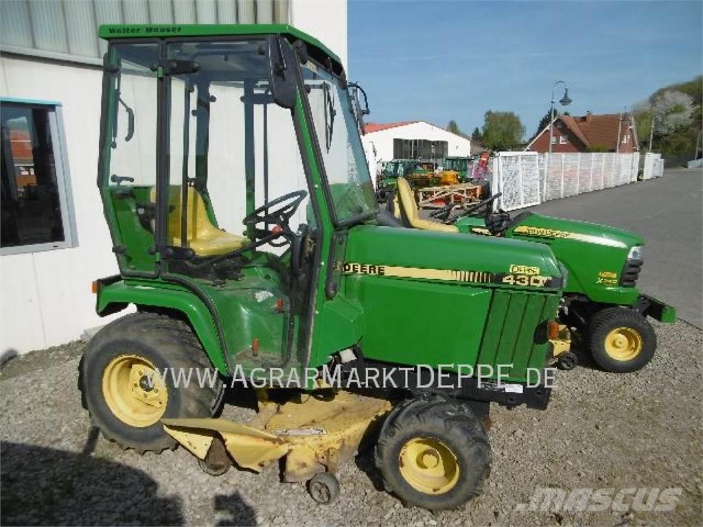 used john deere 430 compact tractors year 1993 price us. Black Bedroom Furniture Sets. Home Design Ideas