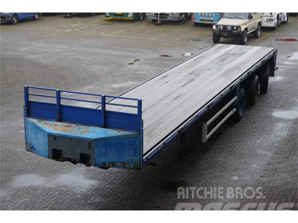 Floor Open 3-assig 2x stuuras/hydrauliek gestuurd
