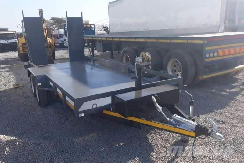 Purchase Used Unspecified Double Axle Car Trailer Other Trailers Via