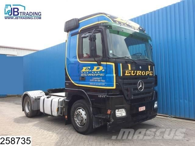 Mercedes-Benz Actros 1841 EURO 5, EPS 16, Hydraulic 3 Pedals, Ai