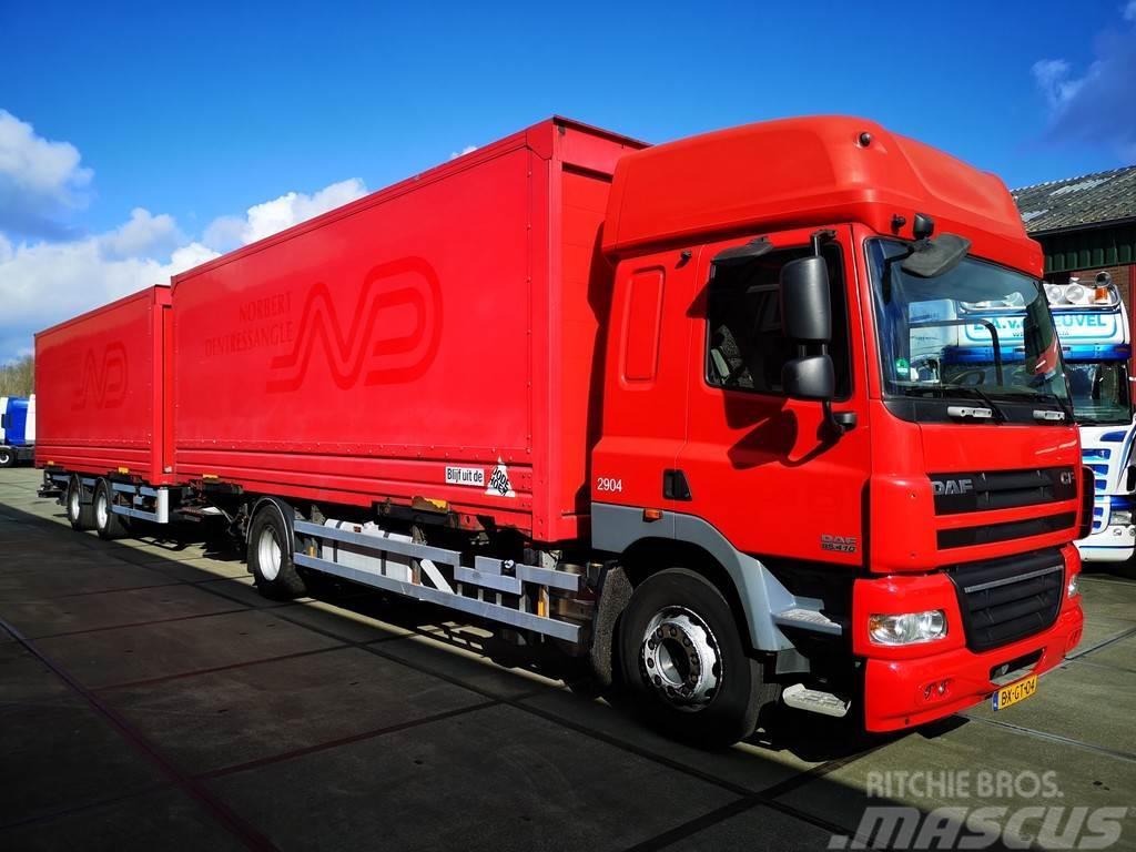 DAF CF 85.410 SC Euro 5 + Van Hool AHW | BDF COMBI
