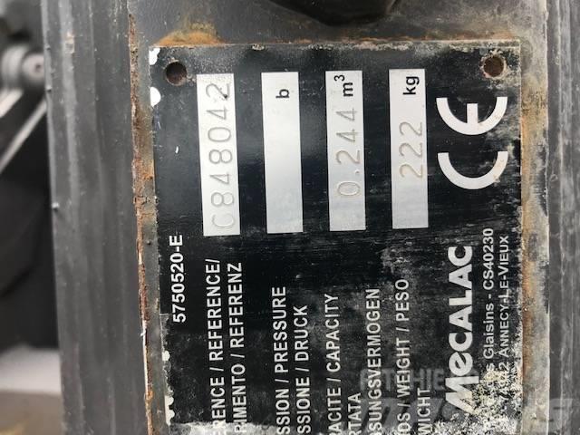 Mecalac Dieplepelbak 600 mm 10MCR