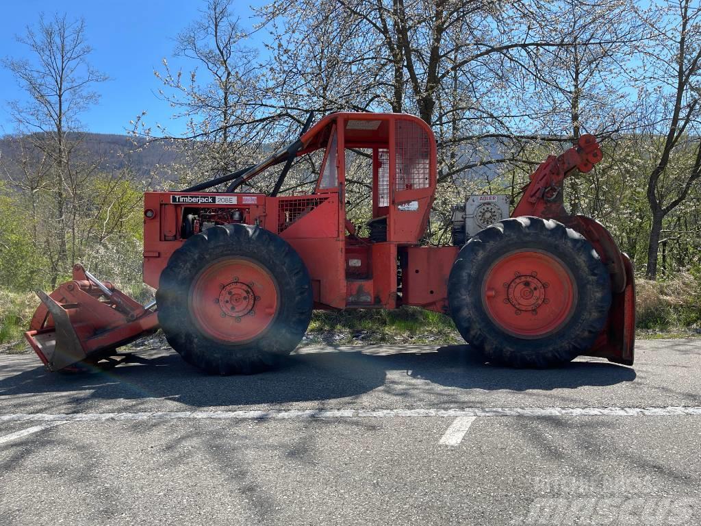 Timberjack 208 / 225 Clark John Deere Adler 2x8t