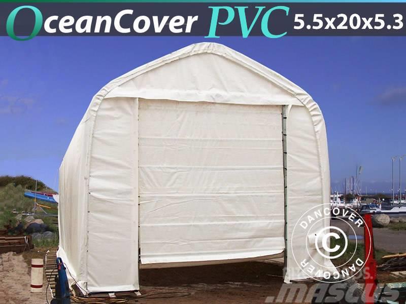 Dancover Storage Tent 5,5x20x4,1x5,3m PVC, Bådtelt