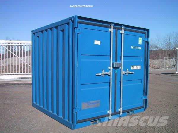 Containex 6' lager container