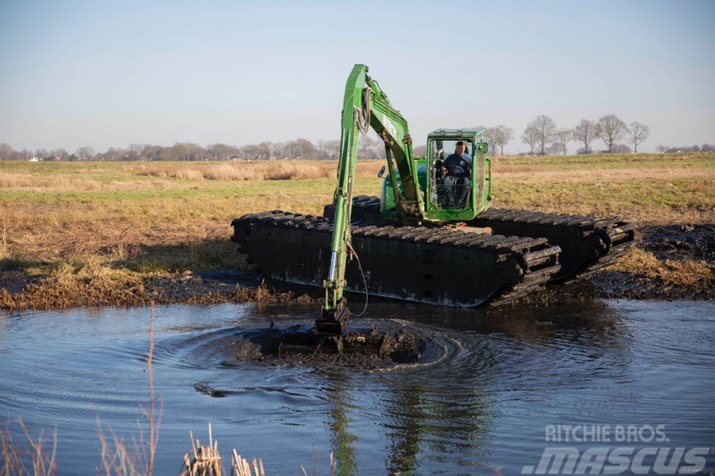 Waterking amphibious excavator 9 t class, Amphibien bagger