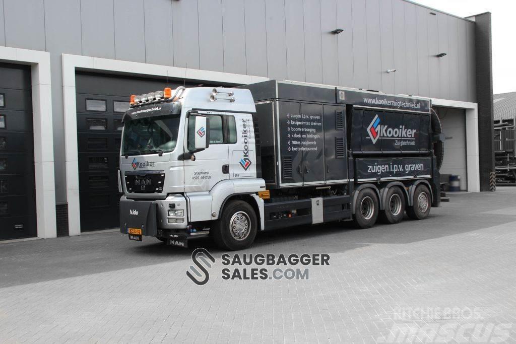 MAN TGS 35.540 RSP 3T 2012 Saugbagger
