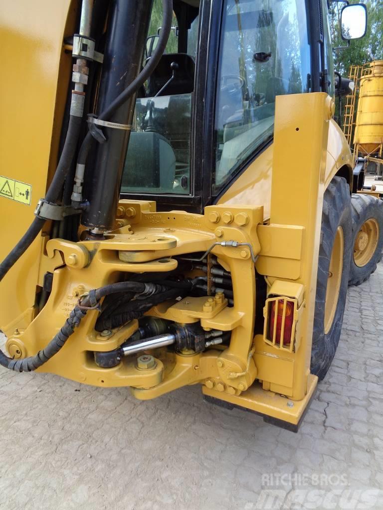 Caterpillar 428 E, 2007, Grävlastare