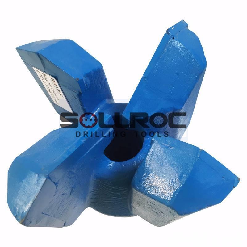 Sollroc Step Drag Bit, Chevron Drag Bit