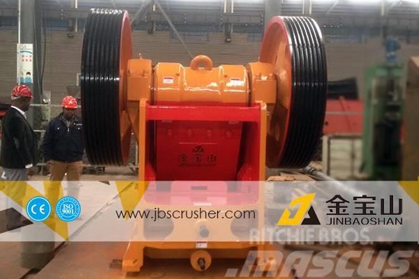 JBS PE 600*900 middle crusher plant stone jaw crusher
