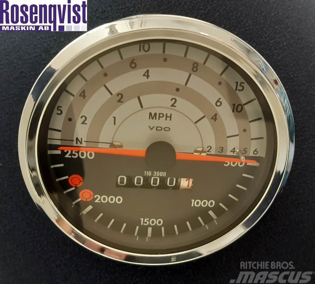Deutz-Fahr VDO Tachometer 01163988, 129.035/034/035