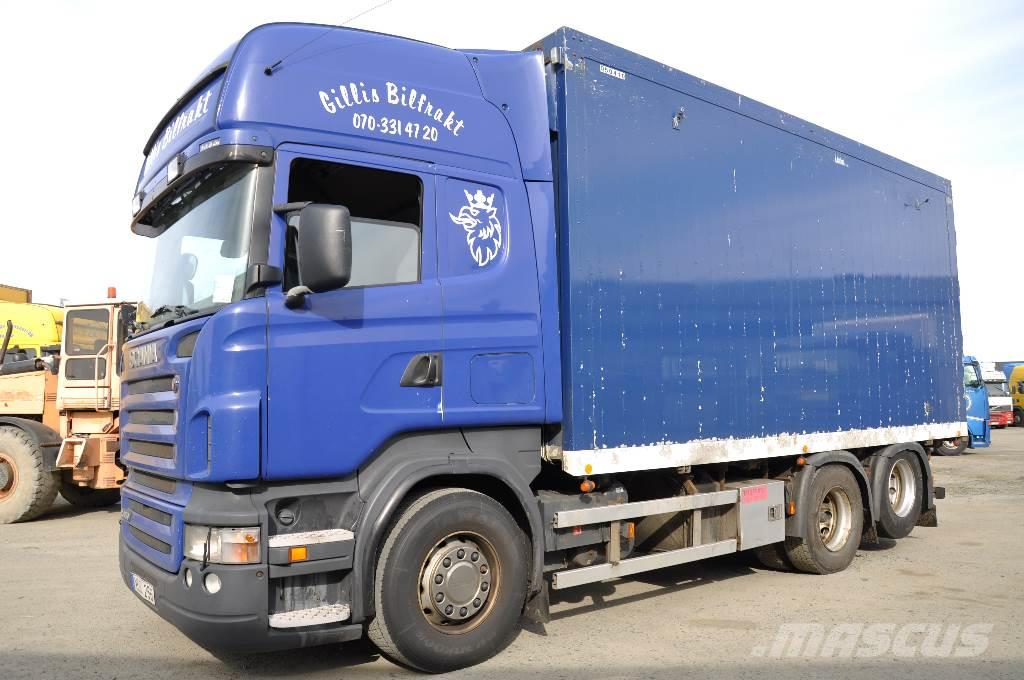 Scania R470 6X2 Flisbil