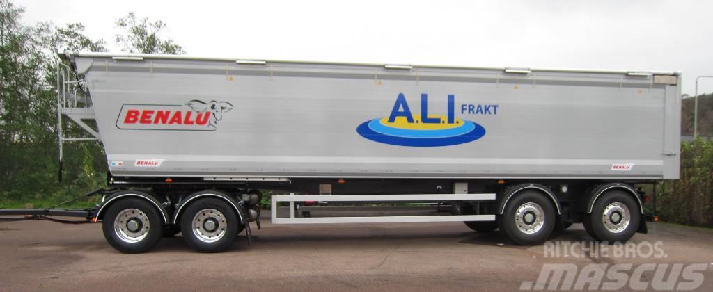 Benalu Bulkliner S 4-axl 38 tons tipp, Varmluftkanaler