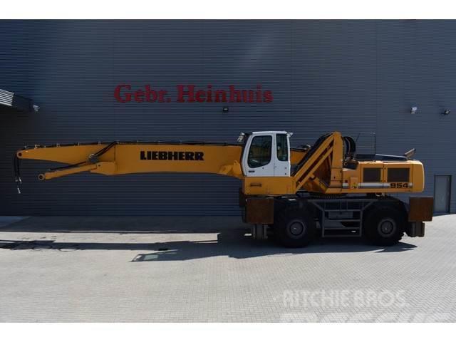 Liebherr A 954 C-HD Litronic 23 meter! Grab + Magnetfunctio