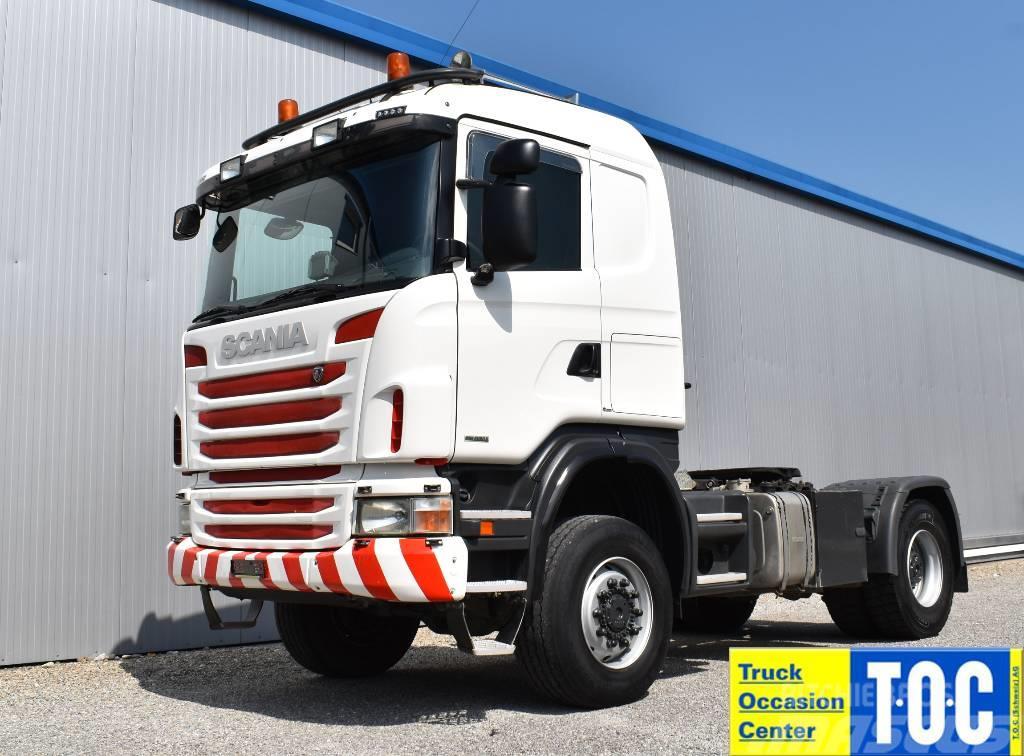 Scania G480 4x4 Euro5 Hydraulik Retarder