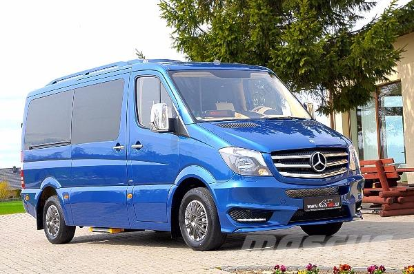 Mercedes-Benz Sprinter 319 CUBY Taxi Bus Warranty 5 years (118)