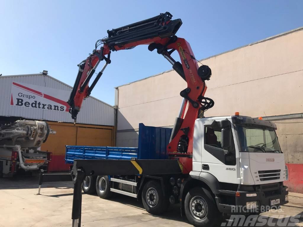 Iveco Trakker 380 Palfinger 72002 + Jib