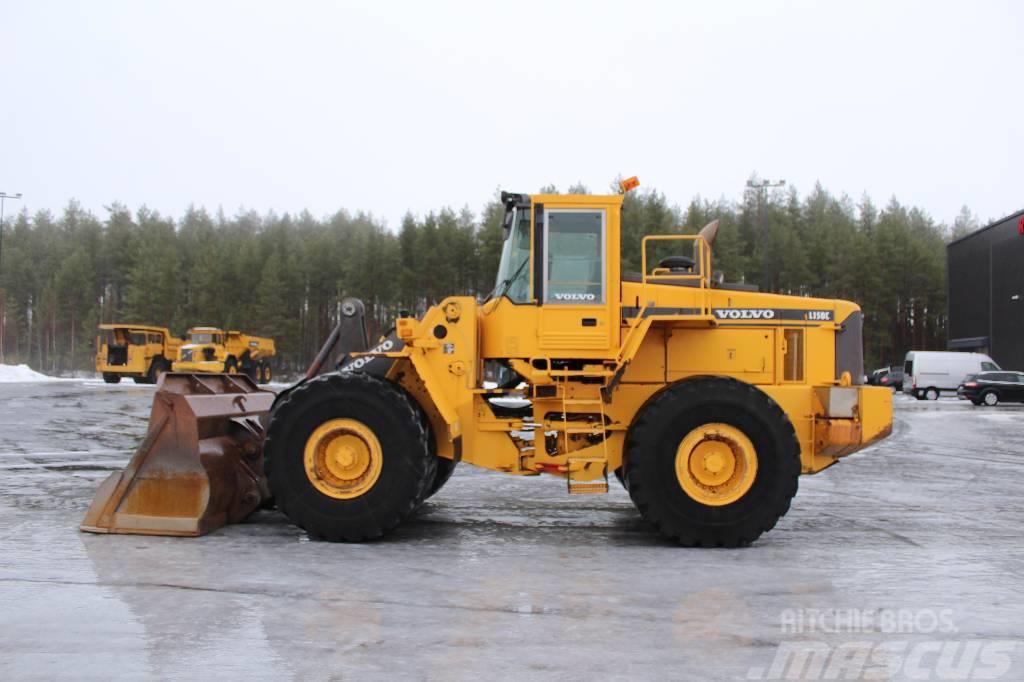 Volvo L 150 / Kauha, Rasvari, Vaaka, Hyvä renkaat