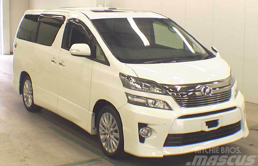 Toyota Velfire DBA-ANH20W