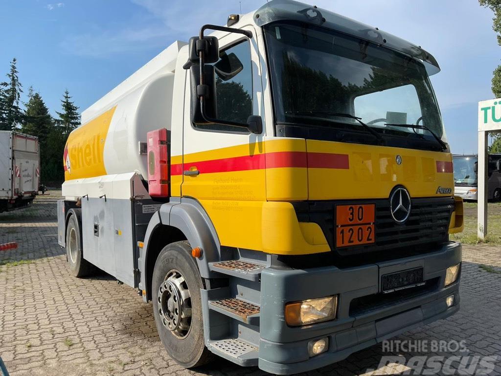 Mercedes-Benz 1828 L Atego Tankwagen 14.000LTr mit 2 Kammern